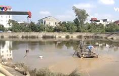 Nghệ An: Làm rõ phản ánh nhà máy nước xả bùn thải ra hồ điều hòa
