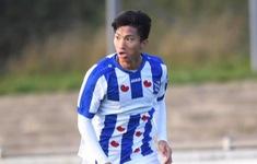 Văn Hậu kiến tạo thành bàn trong màu áo đội trẻ Heerenveen