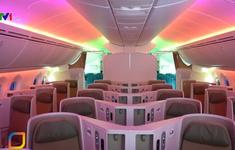 Khám phá bên trong máy bay thứ 100 của Vietnam Airlines