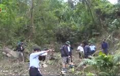 Quảng Ngãi: Nứt núi đe dọa khu dân cư