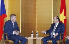Thủ tướng Nguyễn Xuân Phúc hội kiến Thủ tướng CH Czech