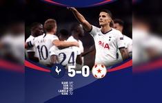 Tottenham 5-0 Crvena Zvezda: Chặn đứng chuỗi trận thất vọng!