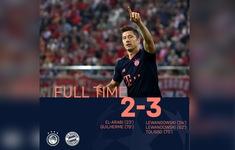 Olympiacos 2-3 Bayern Munich: Lewandowski tỏa sáng, Bayern ngược dòng ngoạn mục