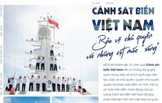 """Cảnh sát biển Việt Nam: Bảo vệ chủ quyền với những cột mốc """"sống"""""""