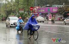 Không khí lạnh gây mưa ở Bắc Bộ và Bắc Trung Bộ