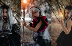 Dàn mẫu nhí Hà thành tạo cơn sốt trong những shoot hình ấn tượng mùa Halloween