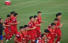 ẢNH: ĐT Việt Nam sẵn sàng cho trận đấu gặp ĐT UAE