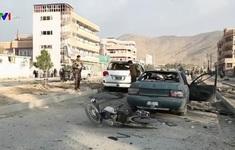 Đánh bom gây thương vong lớn gần Bộ Nội vụ Afghanistan
