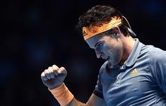 ATP Finals 2019: Thắng ngược Djokovic, Dominic Thiem giành vé vào bán kết