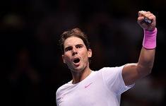 ATP Finals 2019: Nadal thắng kịch tính Medvedev