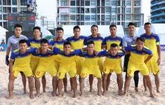 ĐT bóng đá bãi biển Việt Nam ngược dòng kịch tính trước Malaysia lên ngôi đầu bảng