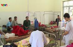 Nhiều công nhân công ty giày da ở Vĩnh Phúc nhập viện