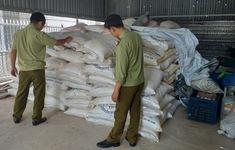 Tây Ninh tạm giữ gần 13 tấn đường cát nghi nhập lậu