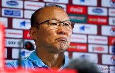"""HLV Park Hang Seo: """"Là một HLV, tôi không hài lòng về kết quả hoà với Thái Lan"""""""