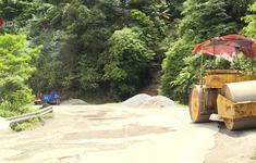 Tổng cục đường bộ chỉ đạo khắc phục quốc lộ 8 qua Hà Tĩnh