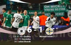 ĐT Đức 6-1 ĐT Bắc Ai-len: Gnabry lập hat-trick ấn tượng!