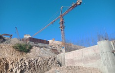 Điều Lữ đoàn 384 vào xây dựng Hồ chứa nước EaH'leo I