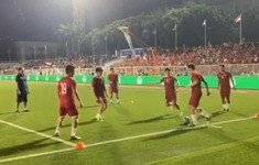 VIDEO: Quang Hải khởi động, tín hiệu mừng cho người hâm mộ bóng đá Việt Nam