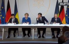 """Họp """"Bộ tứ Normandy"""": Thực thi các biện pháp ngừng bắn"""" tại miền Đông Ukraine"""