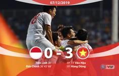 VIDEO Highlights: U22 Indonesia 0-3 U22 Việt Nam (Chung kết môn bóng đá nam SEA Games 30)