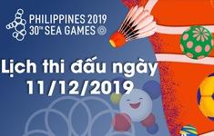 Lịch thi đấu và bế mạc SEA Games 30 ngày 11/12