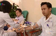 Ngày hội hiến máu của bác sĩ, nhân viên bệnh viện Việt Đức