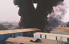 Hỏa hoạn nghiêm trọng tại nhà máy nhựa ở Bangladesh, gần 10 người thiệt mạng