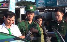 Bắt quả tang tài xế taxi Mai Linh vận chuyển ma túy