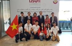 Việt Nam giành 3 HCV Olympic Khoa học quốc tế