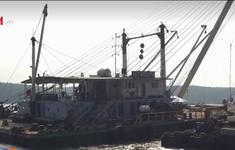 Giải pháp đảm bảo an toàn khi trục vớt tàu trên sông Lòng Tàu