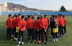 ĐT U23 Việt Nam bước vào buổi tập đầu tiên tại Hàn Quốc