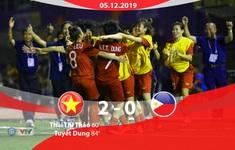 VIDEO Highlights: ĐT nữ Việt Nam 2-0 ĐT nữ Philippines (Bán kết bóng đá nữ SEA Games 30)