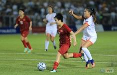 ẢNH: ĐT nữ Việt Nam thi đấu kiên cường, thắng thuyết phục ĐT nữ Phillipines để tiến vào chung kết SEA Games 30