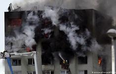 Nổ khí gas tại chung cư cao tầng ở Slovakia