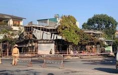 Cháy quán ăn tại Vĩnh Phúc, 4 người thiệt mạng