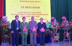 Ra mắt cuốn Lịch sử Đảng bộ và nhân dân xã Kim Chung
