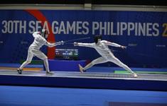 TRỰC TIẾP SEA Games 30, ngày 8/12: Đấu kiếm giành HCV kiếm 3 cạnh đồng đội nam, Bùi Yến Ly giành HCV Muay