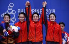 SEA Games 30: Karate Việt Nam giành HCV nội dung Kata đồng đội nữ