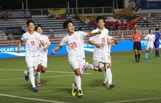 VIDEO Highlights: ĐT nữ Myanmar 2-1 ĐT nữ Philippines (Tranh HCĐ môn bóng đá nữ SEA Games 30)