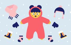 5 sai lầm tai hại khi giữ ấm cho trẻ vào mùa đông