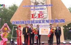 Quảng Nam: Đón bằng di tích quốc gia Phật viện Đồng Dương