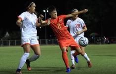 TRỰC TIẾP BÓNG ĐÁ, ĐT nữ Myanmar 0-0 ĐT nữ Philippines: Hiệp 1