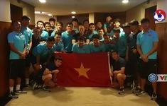 VIDEO: Thầy Park cùng U22 Việt Nam chúc mừng ĐT nữ Việt Nam vô địch SEA Games 30