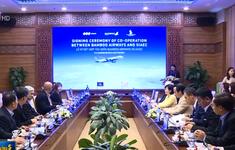 Bamboo Airways và SIAEC ký thỏa thuận hợp tác chiến lược
