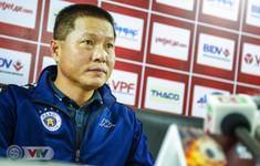 """HLV Chu Đình Nghiêm: """"CLB Hà Nội rất tự tin giành chiến thắng trước Shandon Luneng"""""""