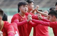 ĐT U22 Việt Nam tập làm quen sân thi đấu trước trận mở màn gặp Philippines