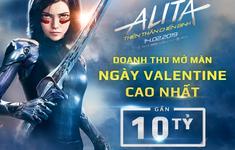 """""""Alita: Battle Angel"""" có doanh thu mở màn ngày Valentine cao nhất tại Việt Nam"""