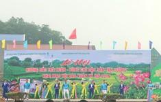 Tưng bừng lễ hội Hương sắc trà xuân - Vùng chè đặc sản Tân Cương