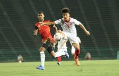 TRỰC TIẾP U22 Timor Leste 0-1 U22 Việt Nam: Danh Trung mở tỉ số may mắn (Hết hiệp một)