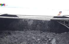 Cảnh sát biển 1 tạm giữ hơn 600 tấn than không rõ nguồn gốc